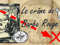 barbe rouge carré
