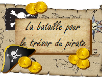 carré bataille pour butin du pirate